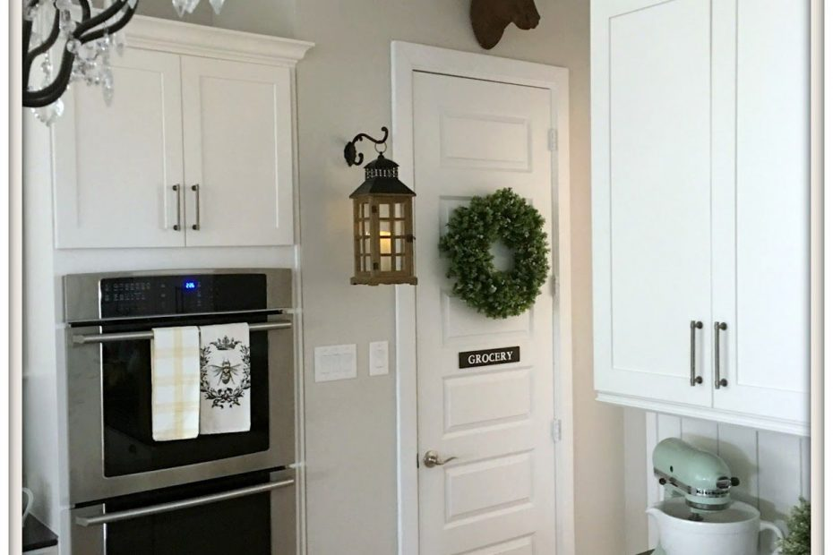 Simple Diy Pantry Door Sign Farmhouse Kitchen Style French