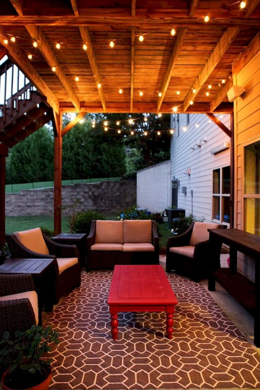 Simple Lighting Ideas For Beautify Your Backyard Deck Lighting