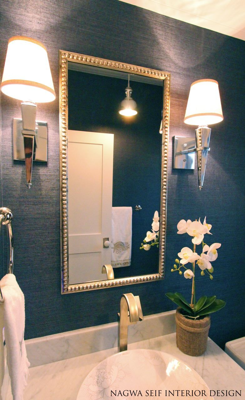 Small But Mighty 100 Powder Rooms That Make A Statement Home