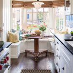 Cottage Kitchen Window Seat