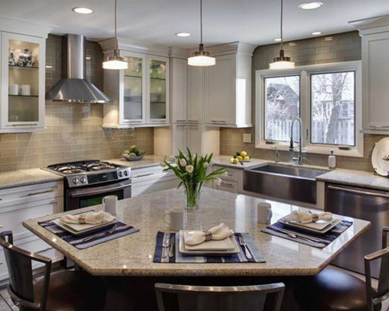 Small L Shaped Kitchens With Islands Google Search Home Decor