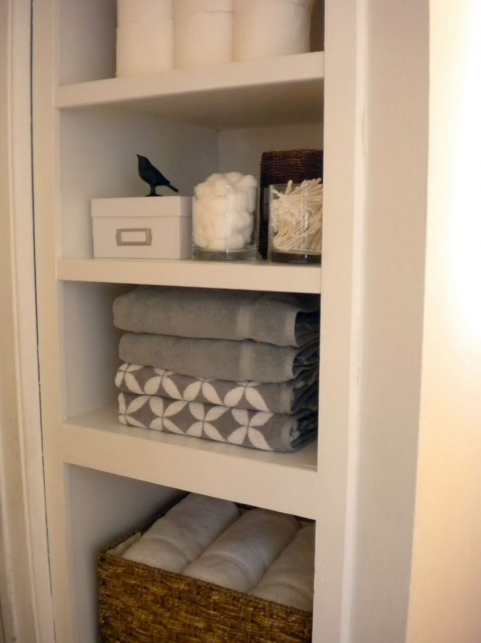 Small Linen Closet Organization Ideas Tiny Bathroom Closet Ideas