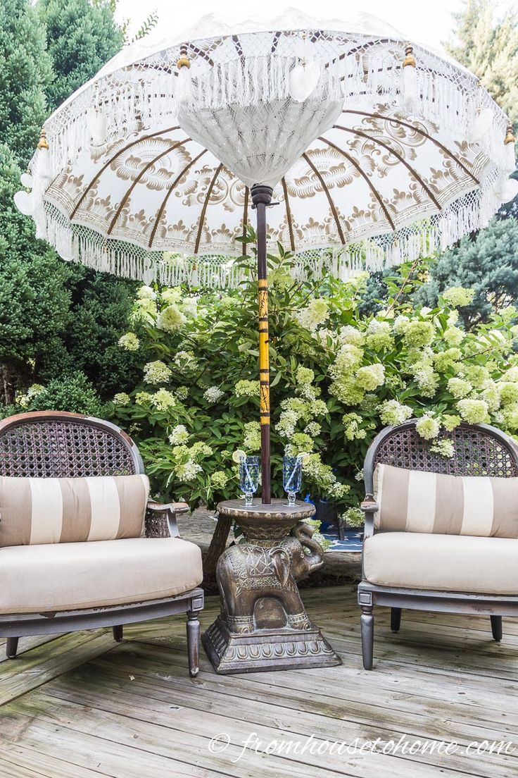 Small Patio Decorating Ideas That Make Your Deck Into An Outdoor
