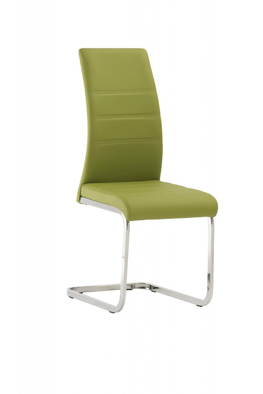 Soho Green Dining Chairs Pack Of Two