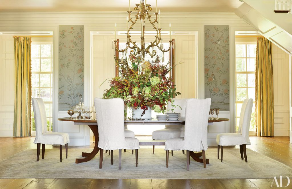 Sophisticated Dining Room Decor Ad100 Designers Architectural