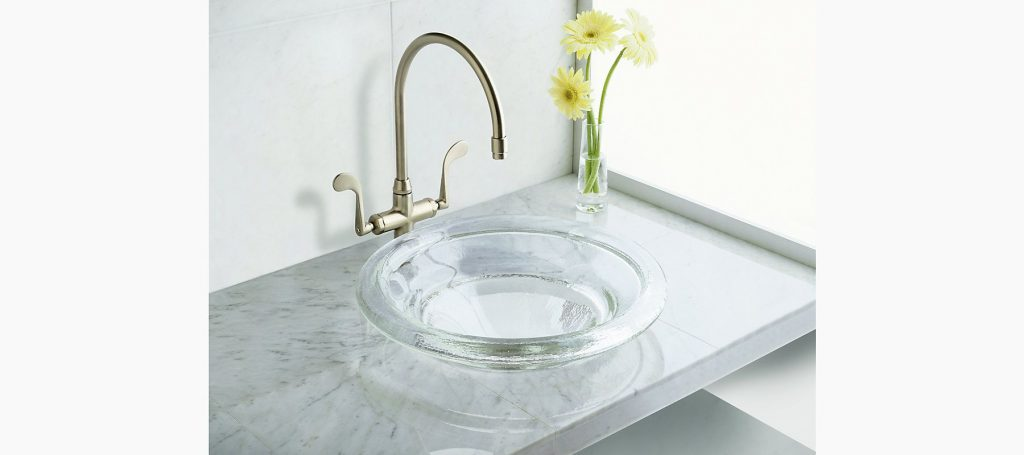 Spun Glass Countertop Sink K 2276 Kohler 5og Kidsguest Bath
