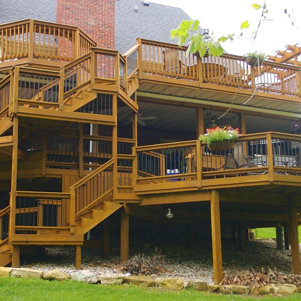 Staying Dry With Underdeck Systems American Deck Sunroom