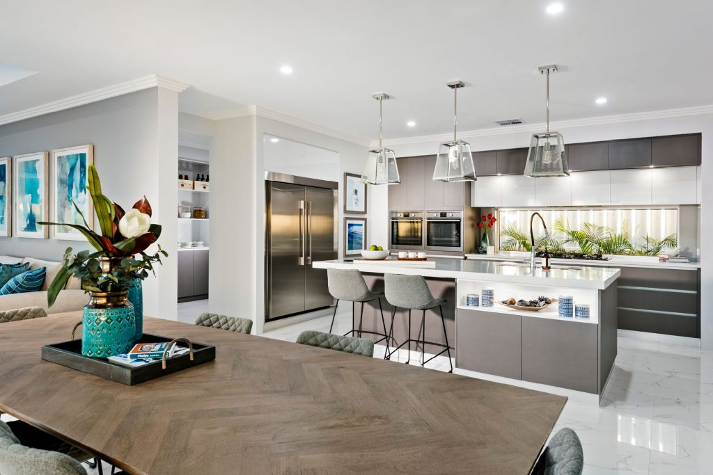 Stunning Open Plan Kitchens Ben Trager Homes On Display In Perth
