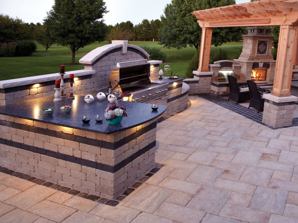 Stunning Outdoor Bbq Set Up Backyard Ideas In 2019 Brick Bbq