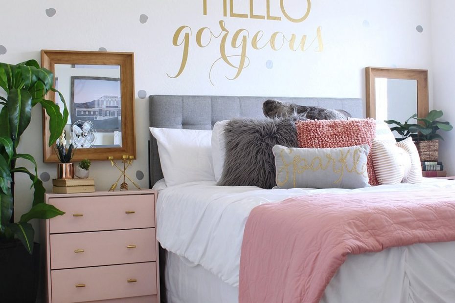 Surprise Teen Girls Bedroom Makeover Classy Clutter Blog Girl