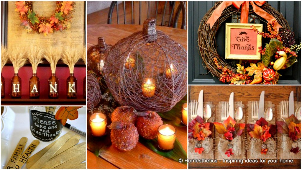 Thanksgiving Decorations Ideas Table Outdoor Home Happy