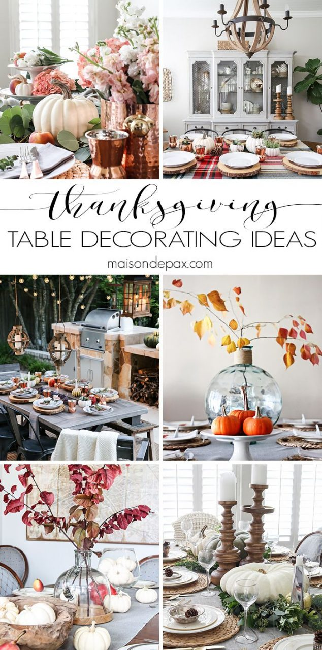 Thanksgiving Table Decorations And Ideas Create Decor Table