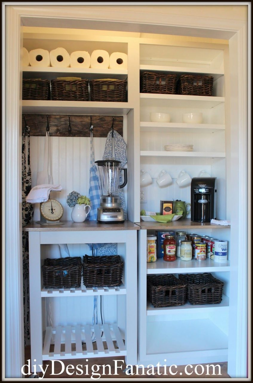The Vintage Style Pantry The Mountain Cottage Reno Diy Bloggers