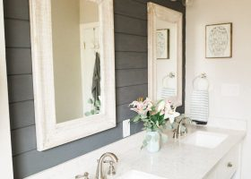 Bathroom with Shiplap