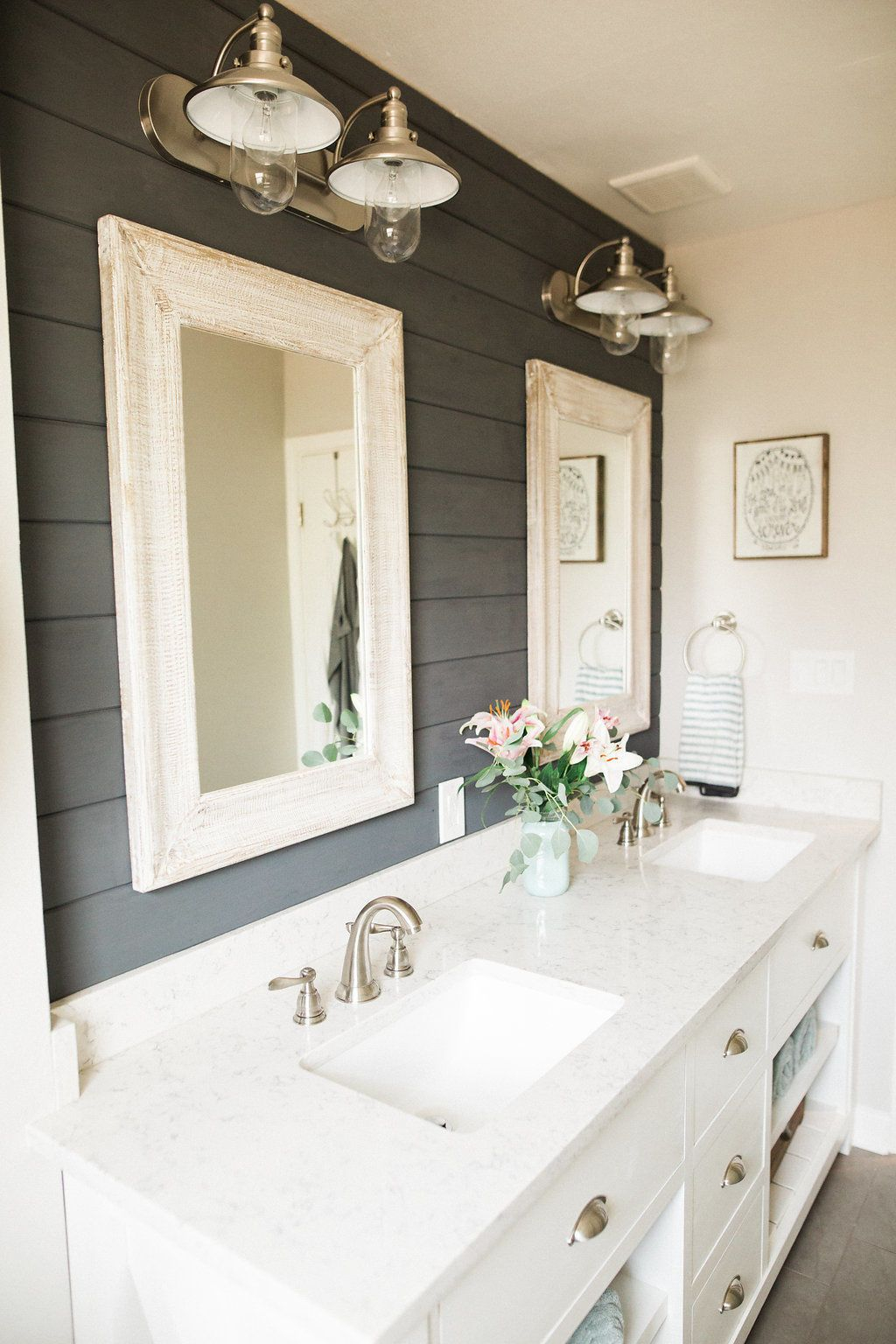 This Bathroom Makeover Will Convince You To Embrace Shiplap House