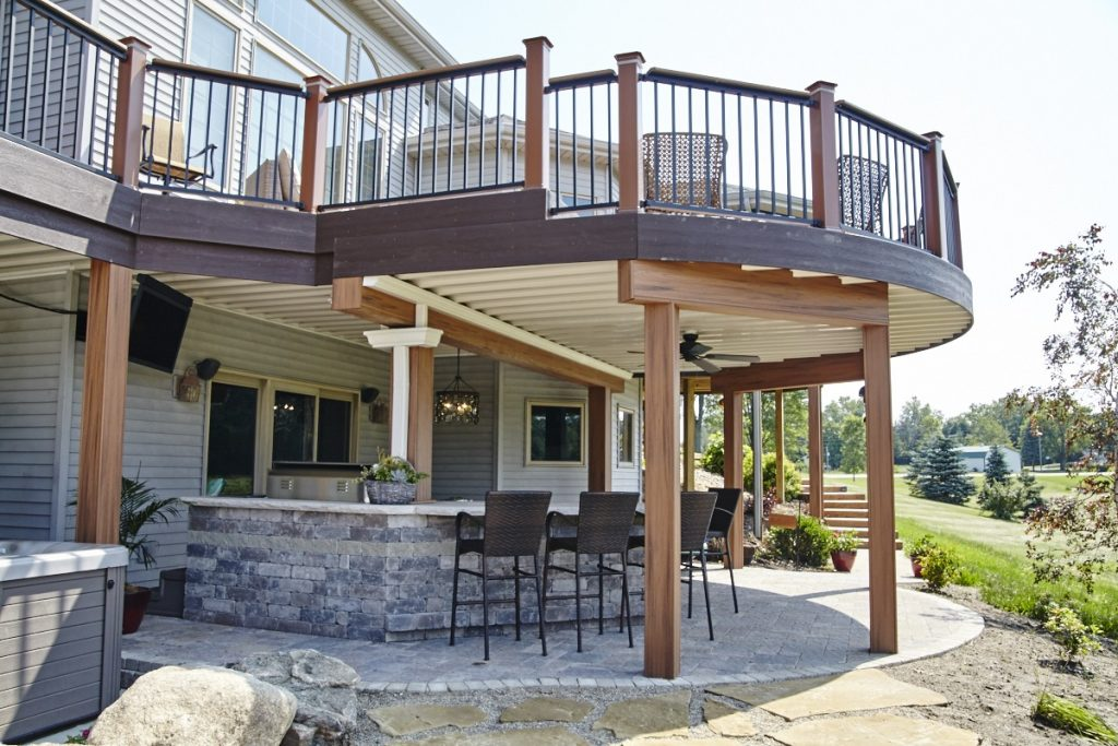 This Churubusco In Outdoor Living Combination Is A Dream Come True