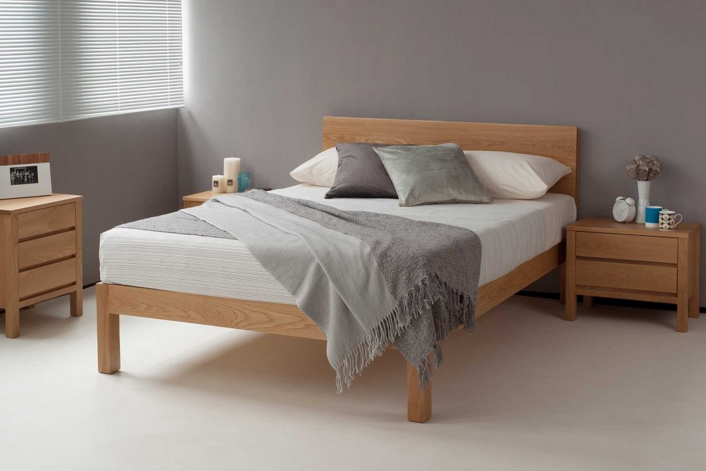 Tibet Solid Wood Bed