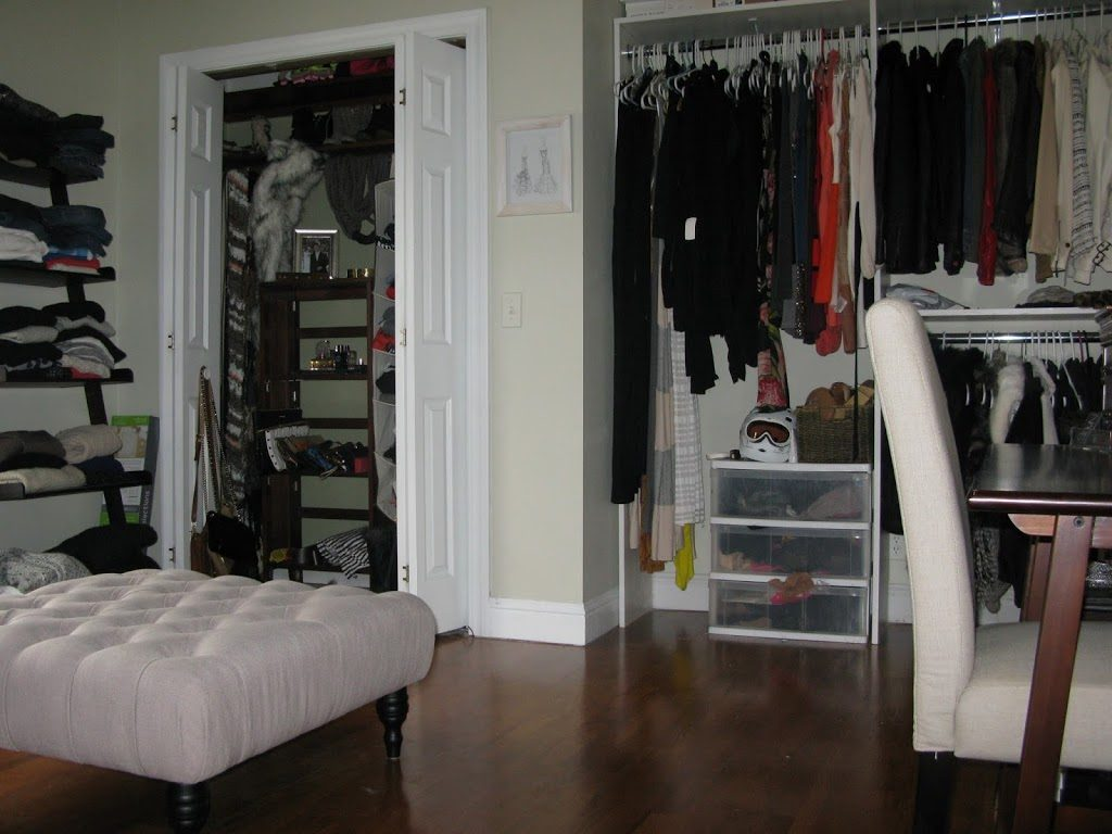 Turning A Spare Bedroom Into A Dressing Room