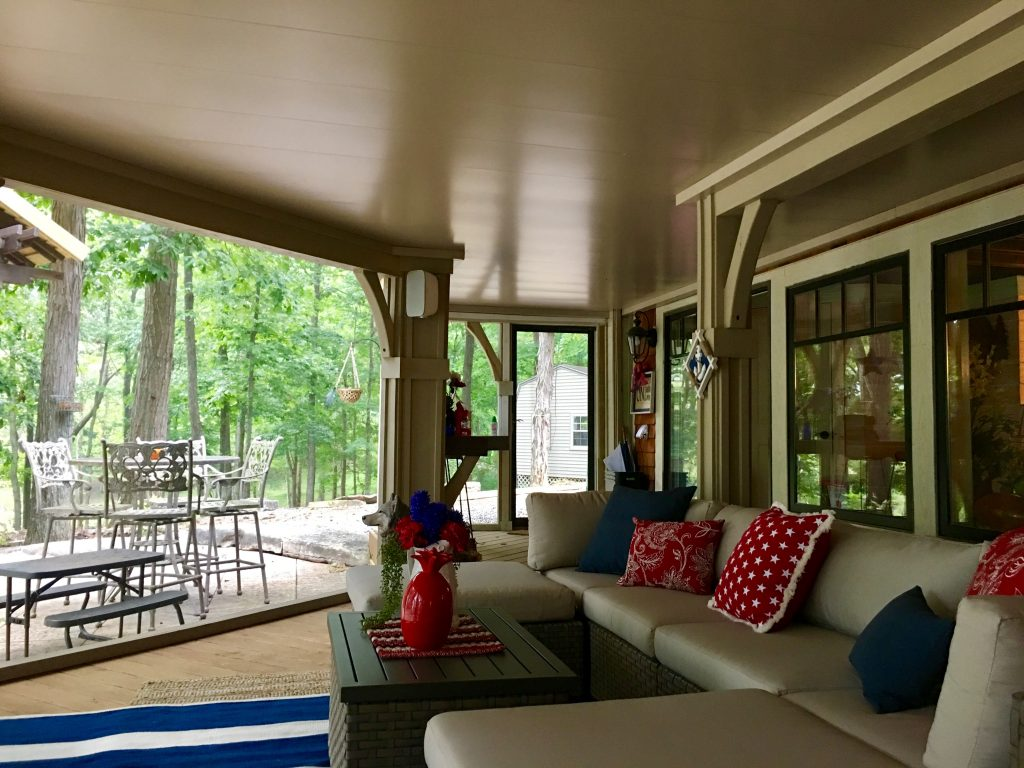 Underdeck Spaces American Deck Sunroom