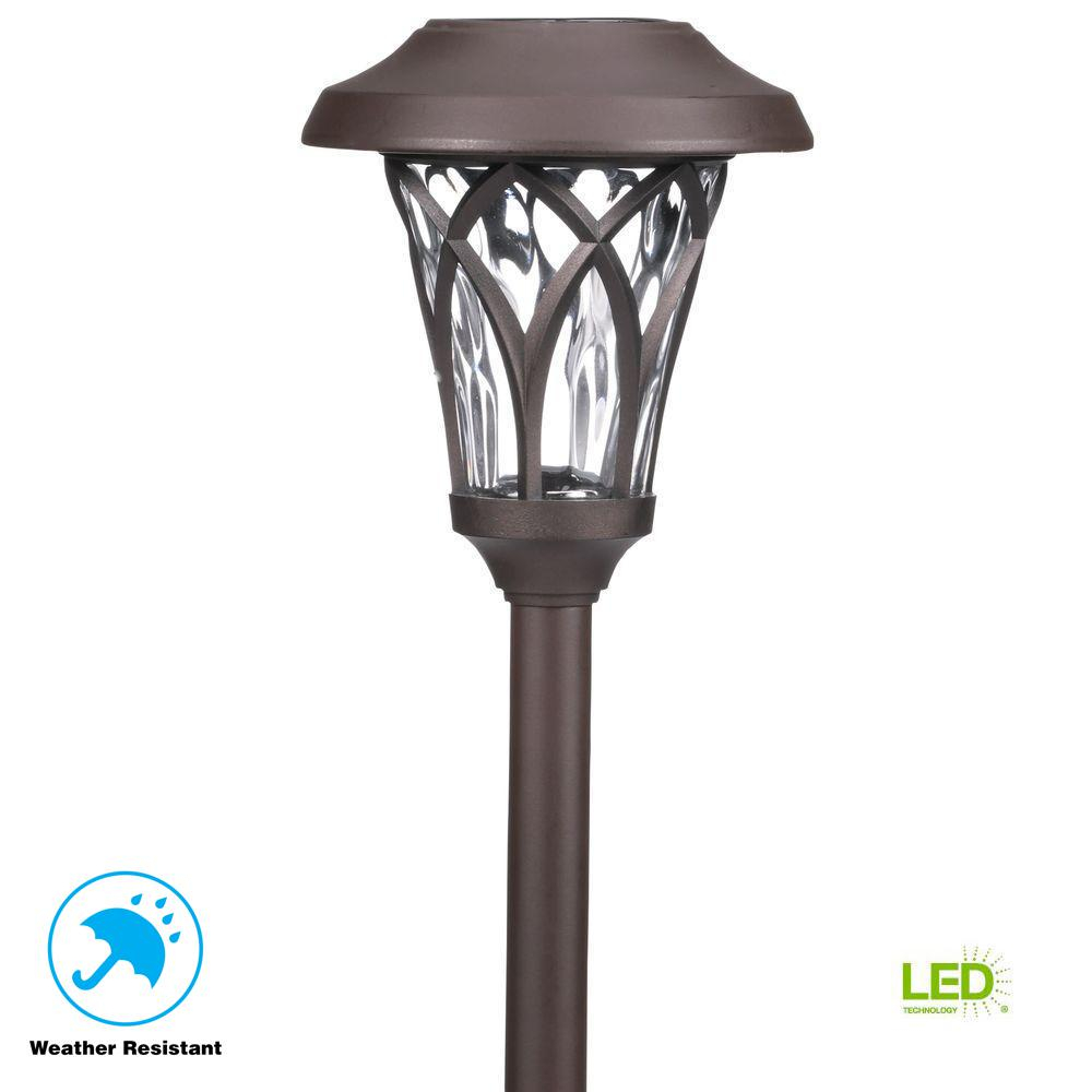 Upc 842674083282 Hampton Bay Path Landscape Lights Solar Led