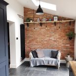 Veluxextension Stunning Extension With Exposed Brick Wall