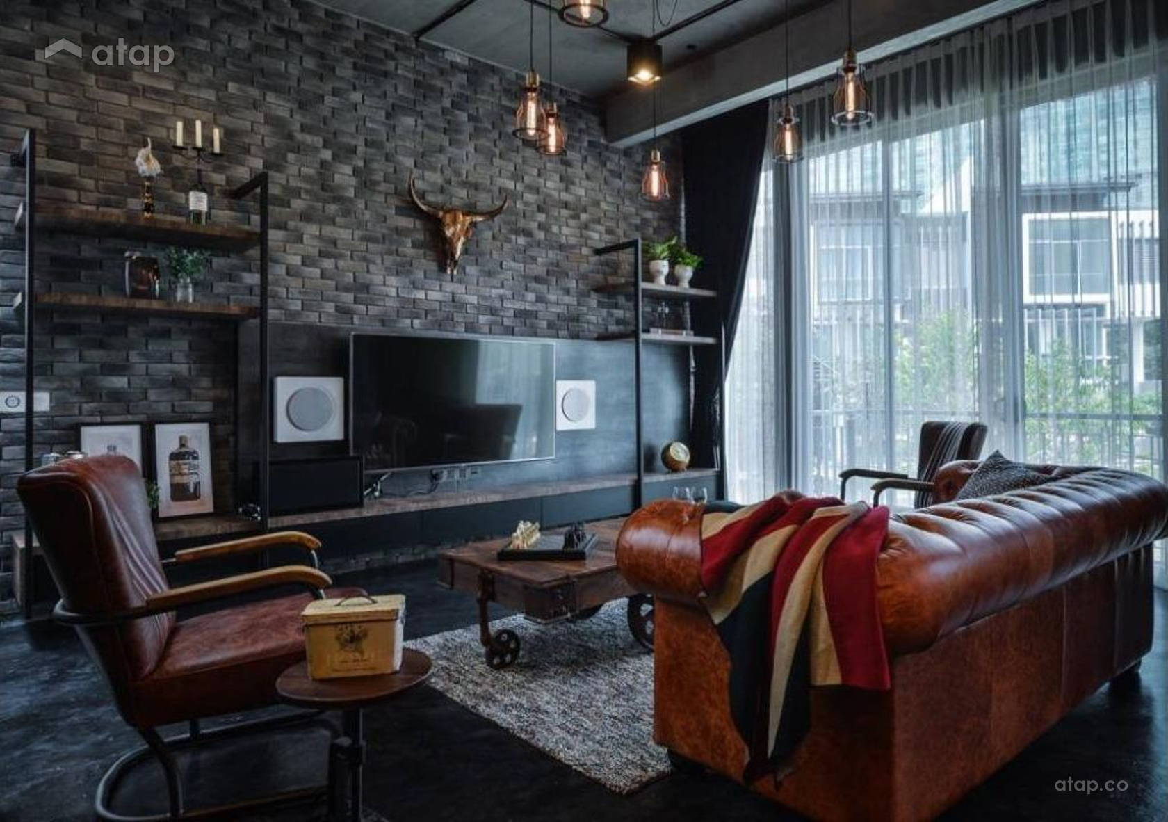 Vintage Industrial Living Room Others Design Ideas Photos Malaysia