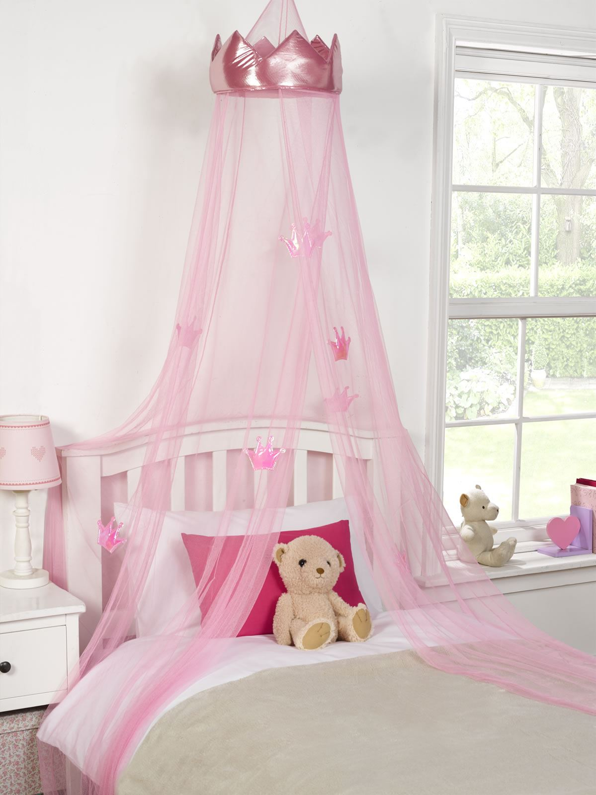 Picture of: Wall Mounted Bed Canopy Crown Svc2baltics Creative Bed Crown Canopy Layjao