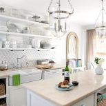 White Cottage Kitchen Milk And Honey Home Hgtv Farmhouse Rustic