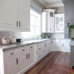 Small Kitchen Designs with White Cabinets