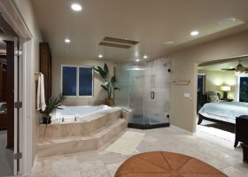 Beautiful Master Bedroom Bathroom