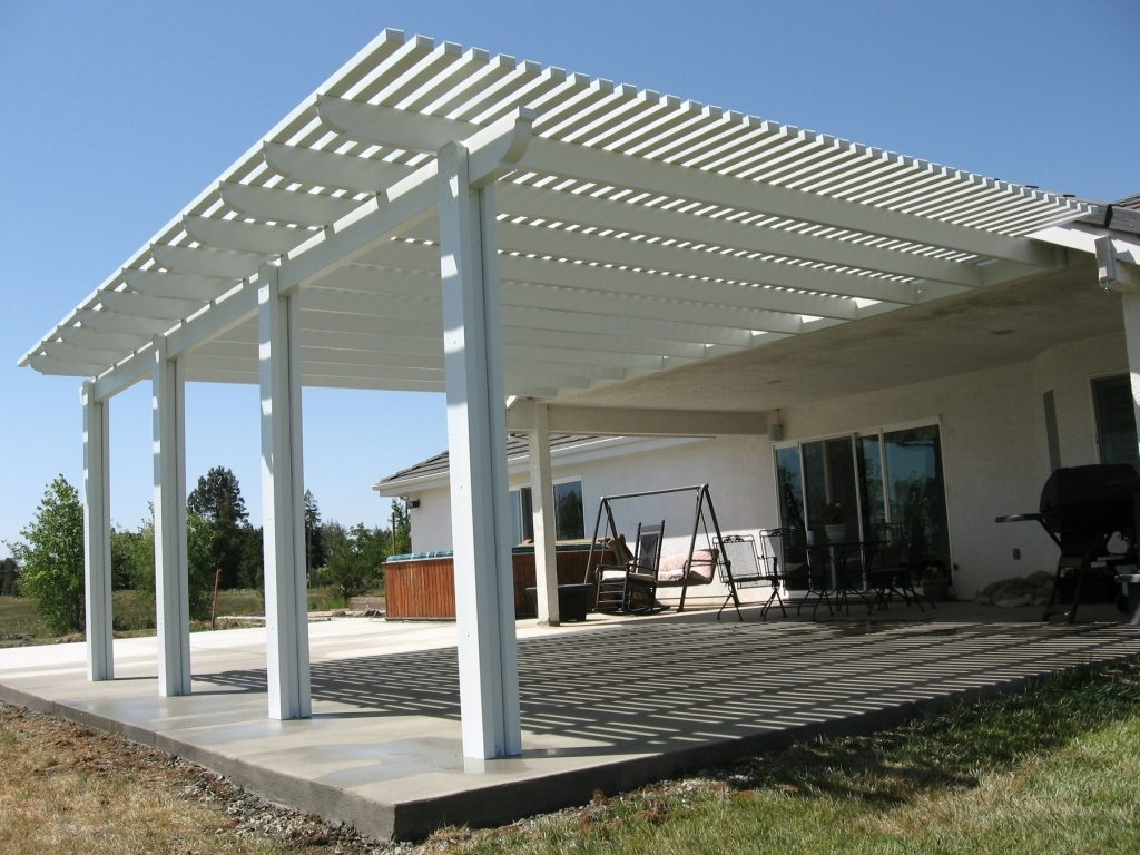 Wood Detached Patio Cover Plans Design Idea And Decor