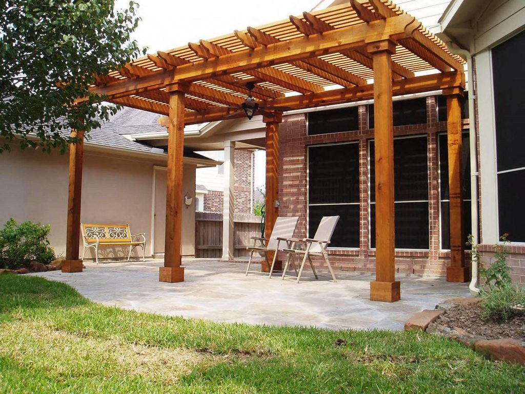 Wood Patio Cover Plans Schmidt Gallery Design